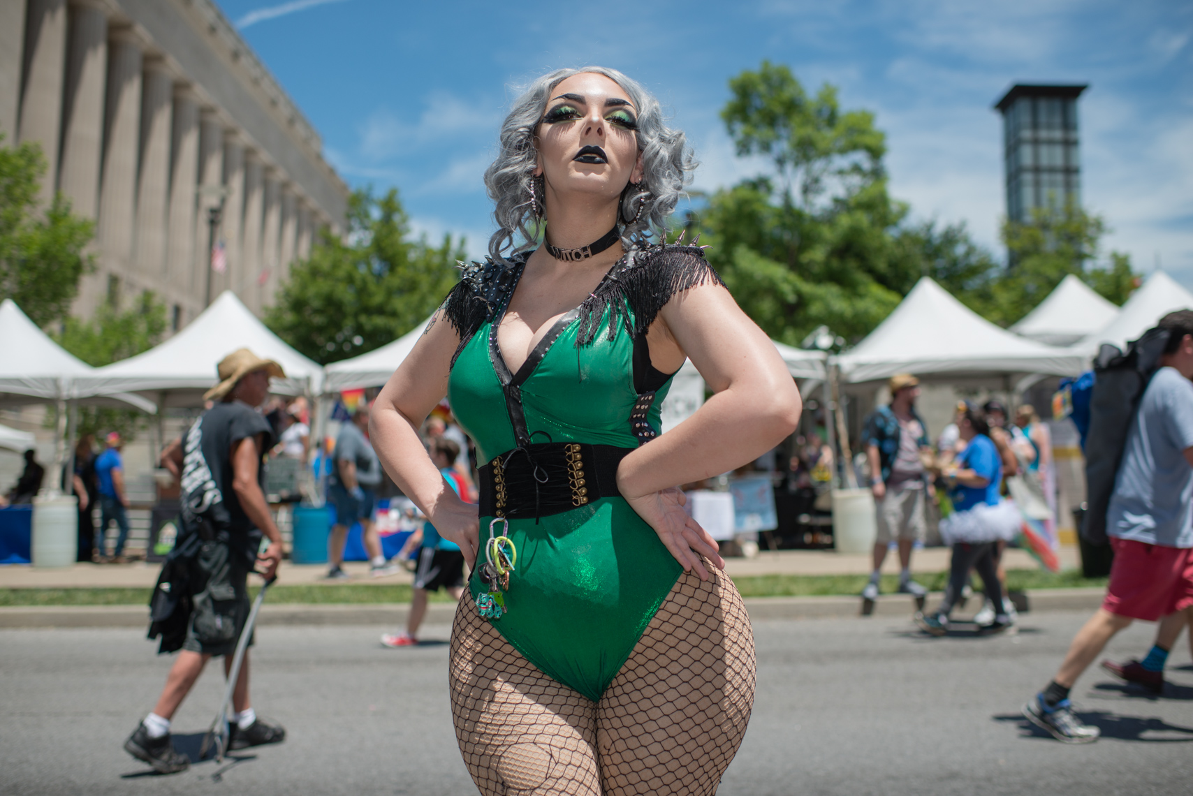 Nashville Pride Festival 2017 | Photographer + Director, Kristina Krug | authentic, authenticity, bisexual, celebrate, celebration, civil, civil liberties, drag queen, courage, dancing, documentary, drag, emotions, equality, esteem, fearless, festival, festive, free, freedom, friends, fun, gay, happy, journalism, joy, joyful, Kristina Krug, krug photo, lesbian, LGBT, LGBTQ, liberty, love, love wins, loved, love is love, loveliness, lovers, love wins, men, National Pride Day, parade, people, photographer, photojournalism, photojournalist, Portrait, Predators, pride, Pride Parade, proud, queen, queer, relationship, reportage, respect, rights, safety, self, sexuality, summer, sun, sunny, drag queen, transgender woman at Public Square Park